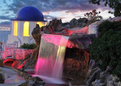Водопад для отеля, селфи зона