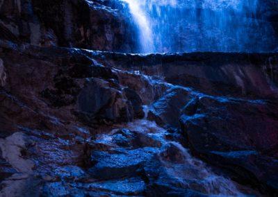 Водопад Умань ночь
