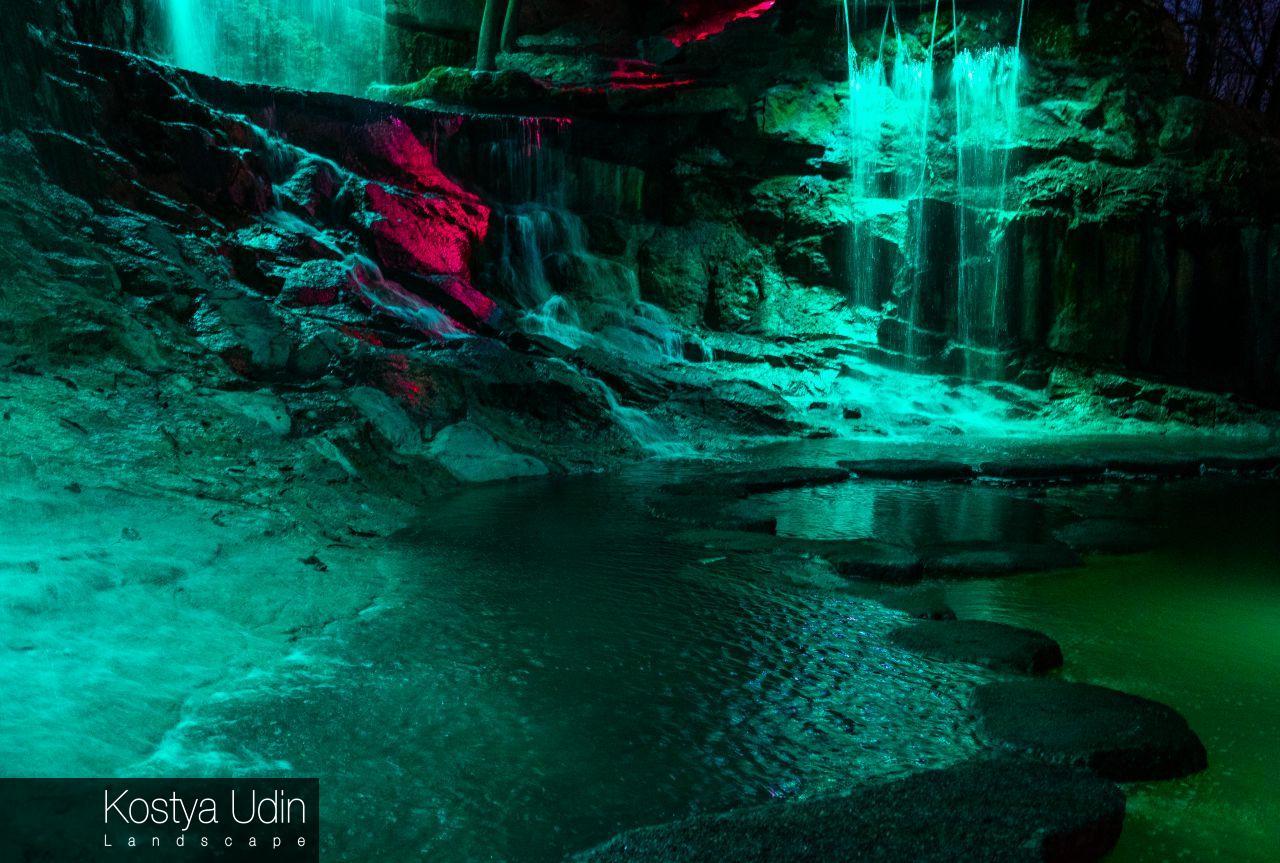 Водопады Умань - пример работы