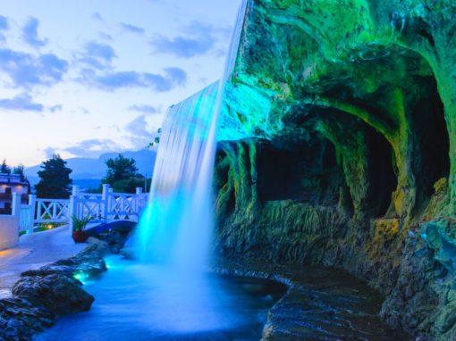 Подсветка для водопада