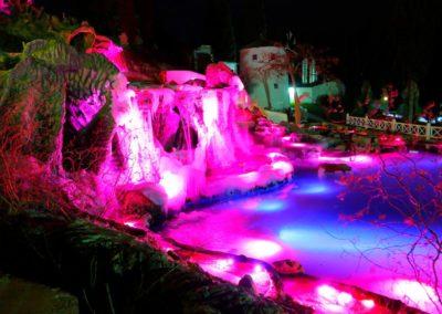 Подсветка водной зоны