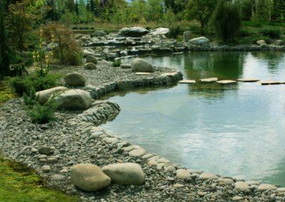 Пруд для купания с биологической очисткой