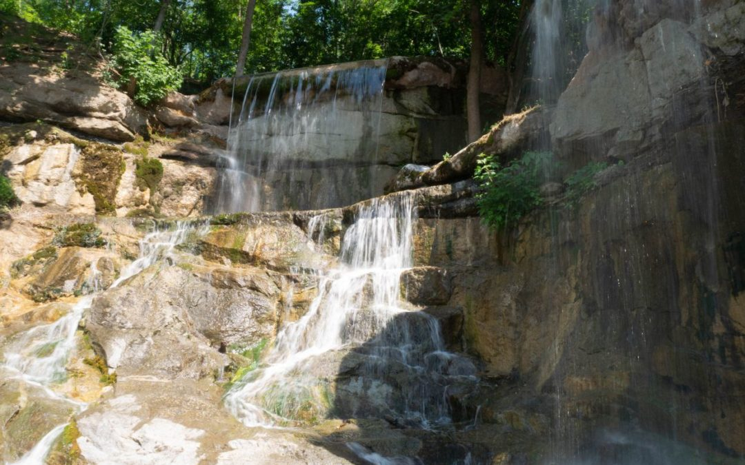 Водопады для парков, ландшафтный дизайн
