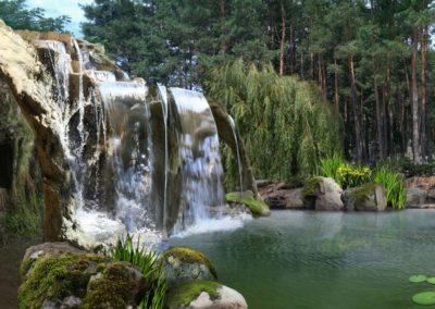 Концепция Водопада Грота