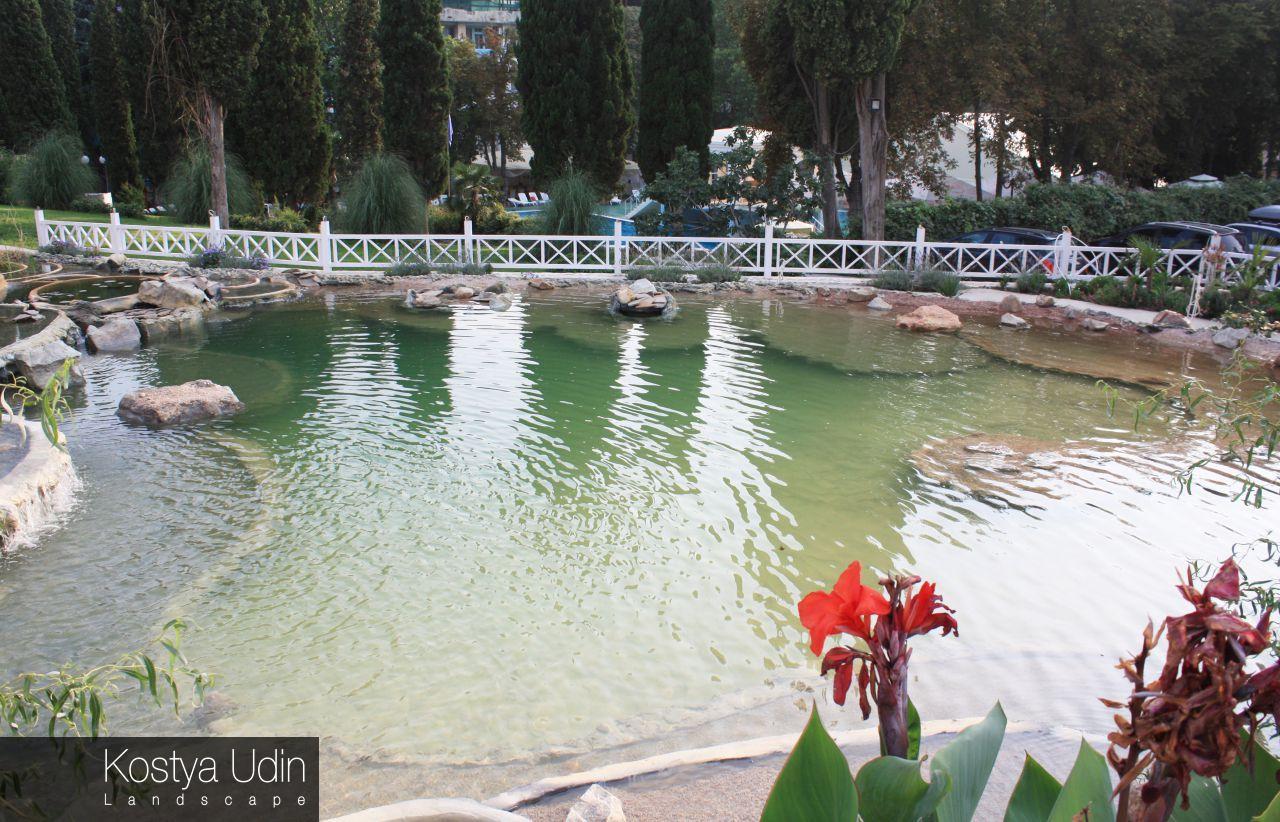Озеро для лебедей
