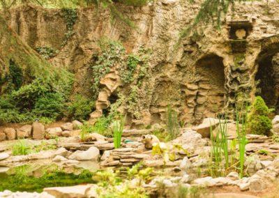 Водопад входной зоны