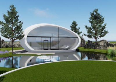 Концептуальное решение — концепт egg house