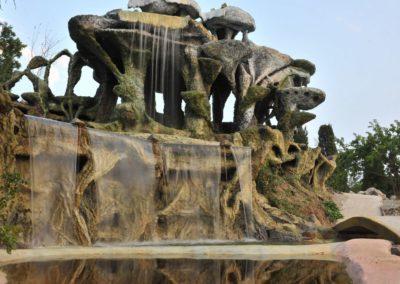 Четырёхуровневый водопад