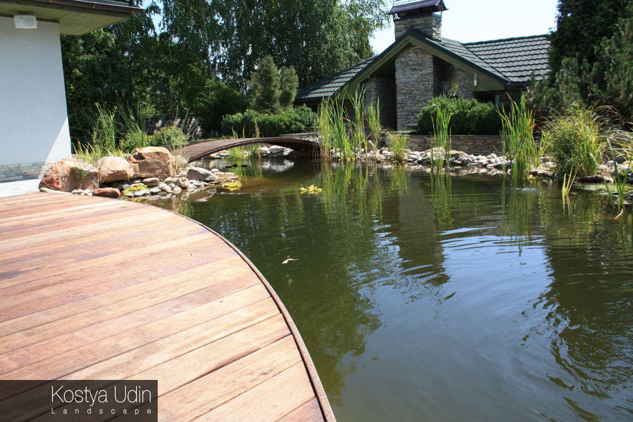 Плавательный пруд для сада