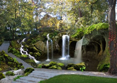 Концепция каскад Водопадов