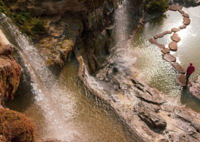 Вершина водопада, Умань