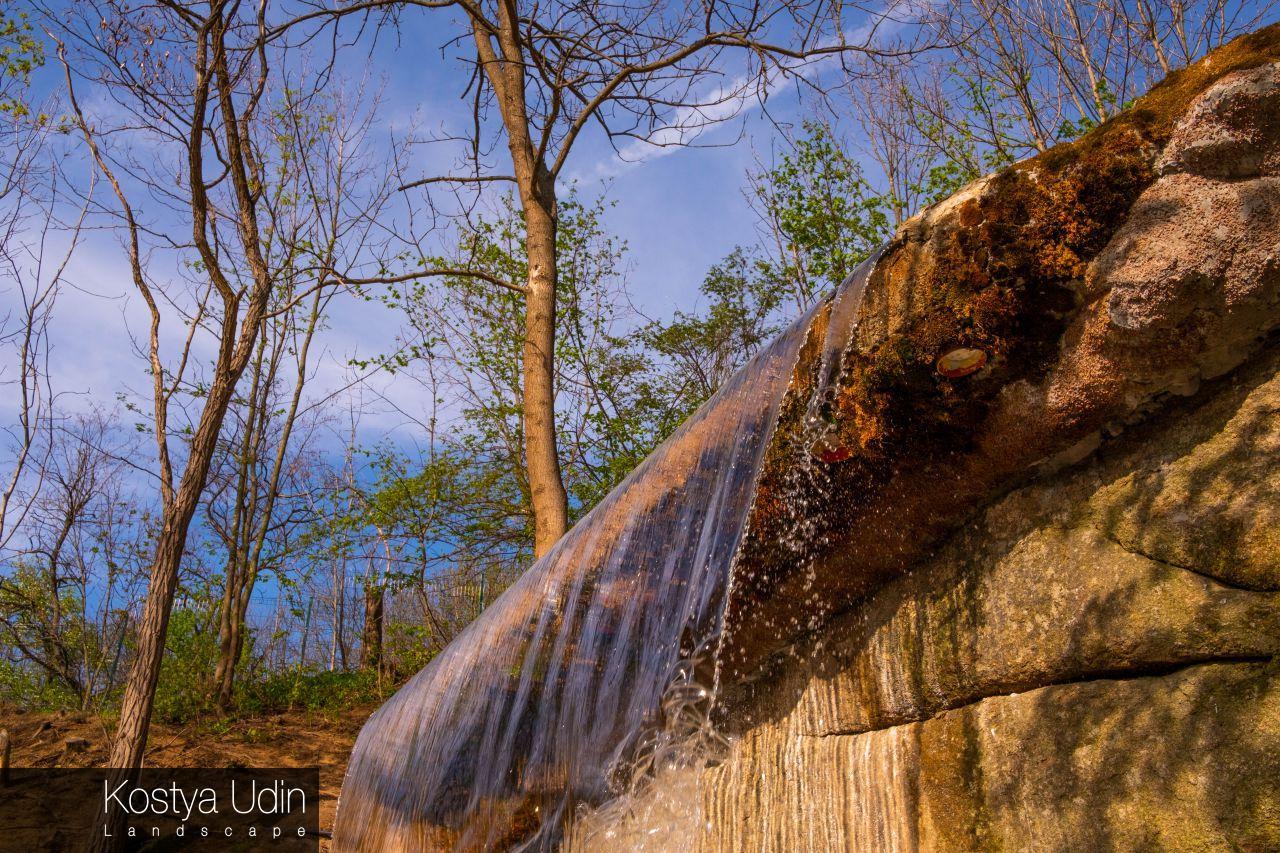 Дизайн паркового водопада, Умань