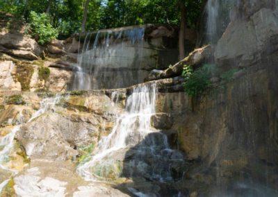 Водопад «Тризуб Посейдона», Умань