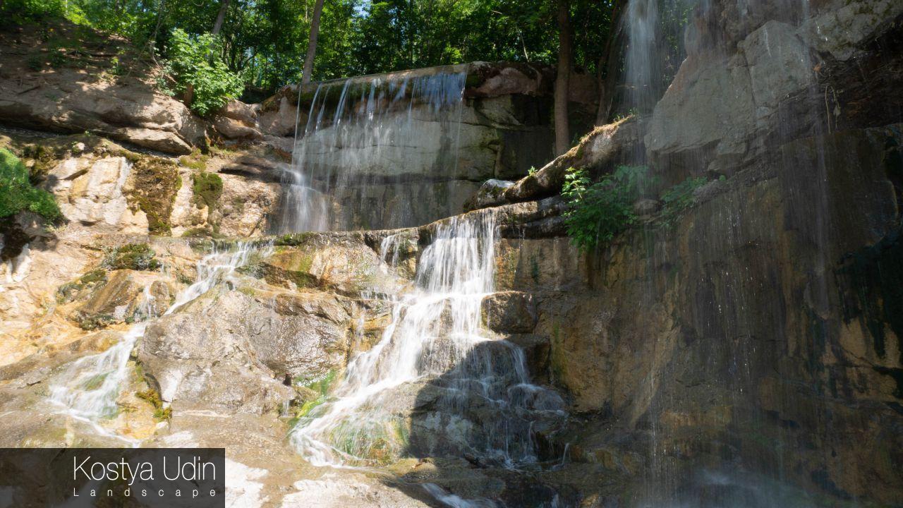 """Водопад """"Тризуб Посейдона"""", Умань"""