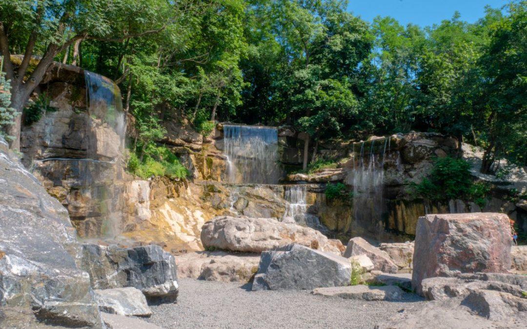 Комплекс водопадов «Трезубец Посейдона»