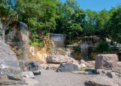 Комплекс водопадов для парка