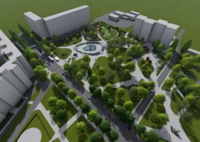 Проект «Реконструкция сквера»