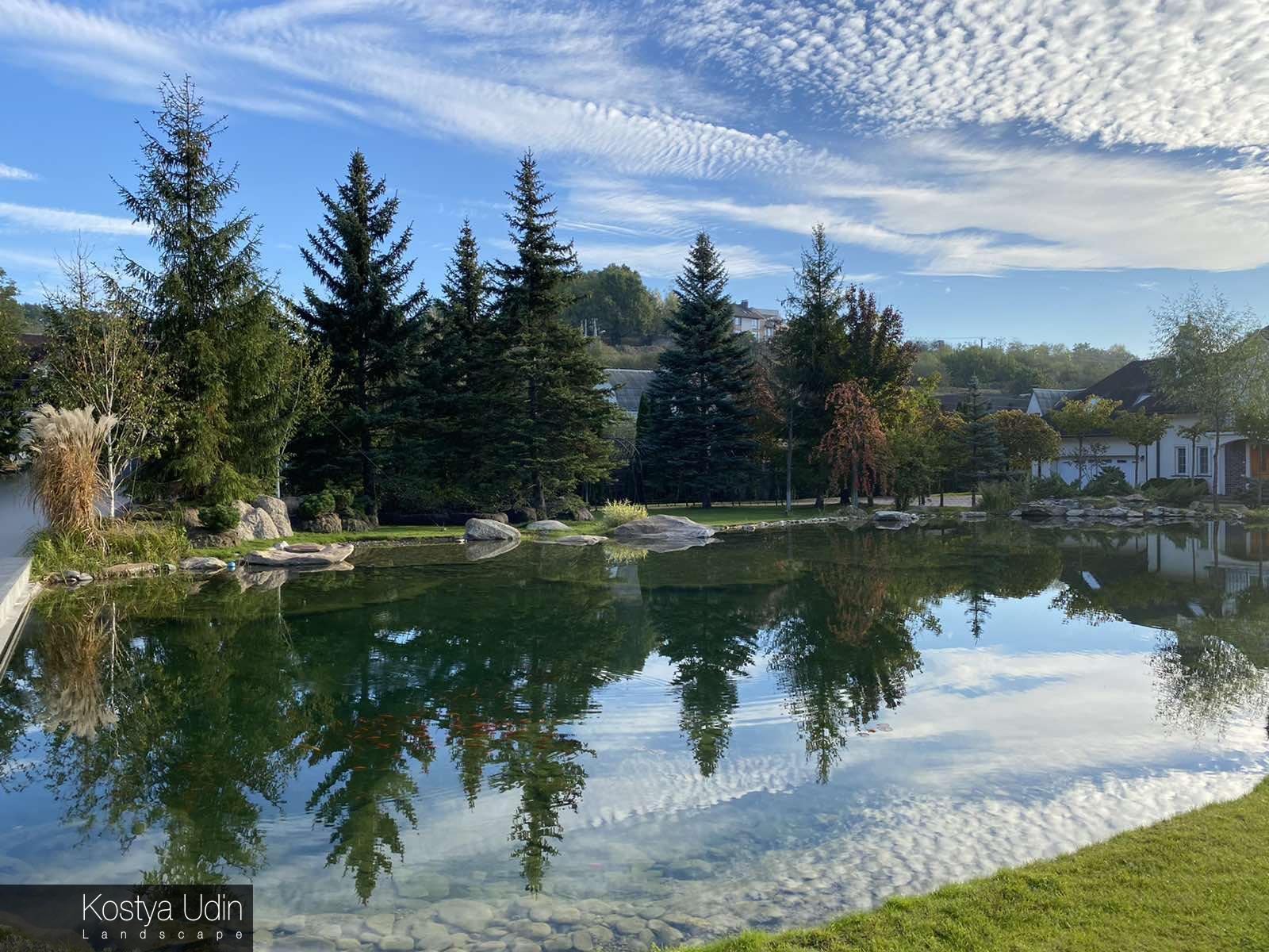 Озёра в ландшафтном дизайне