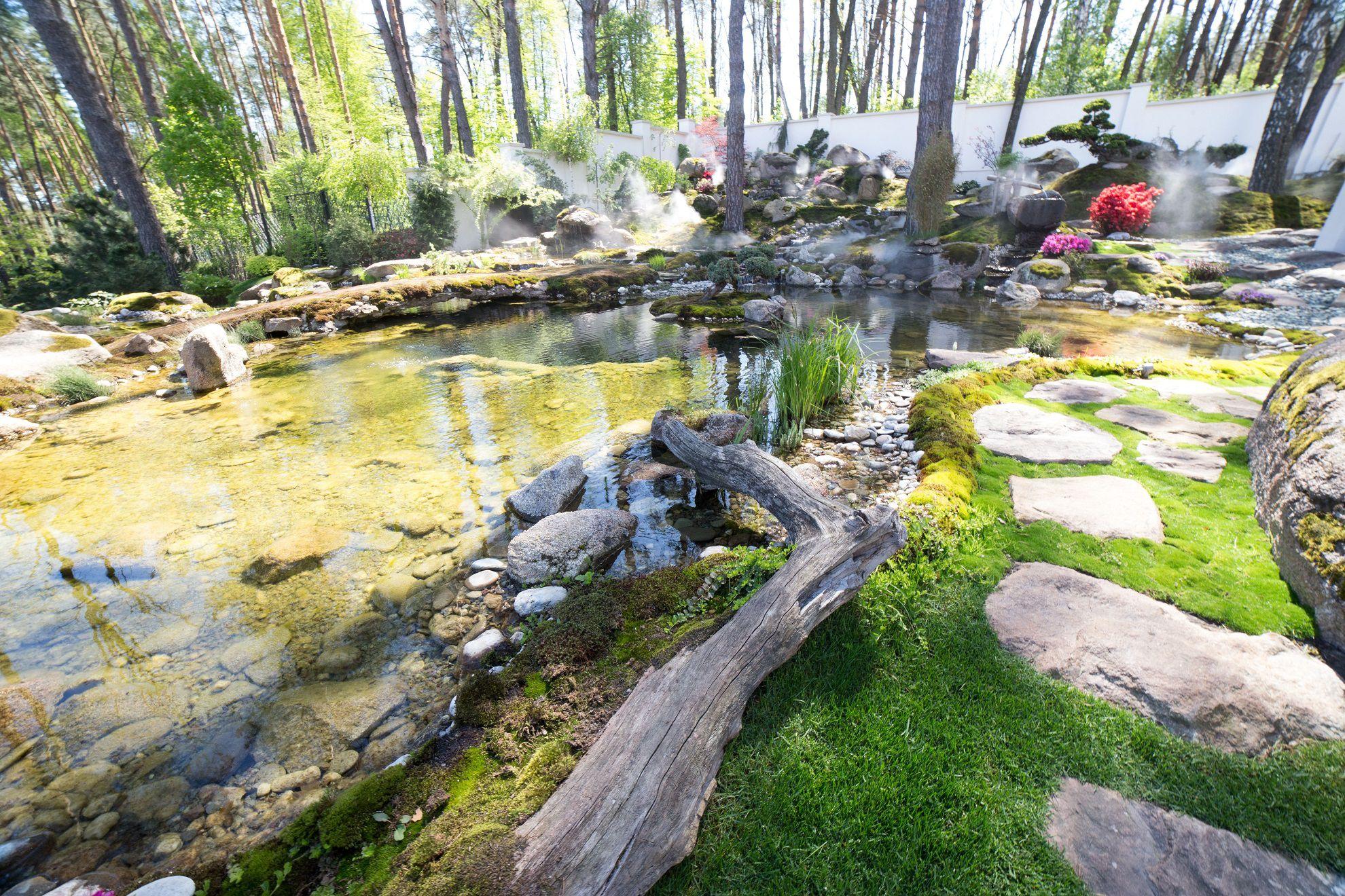 Ландшафтный дизайн - Японский сад