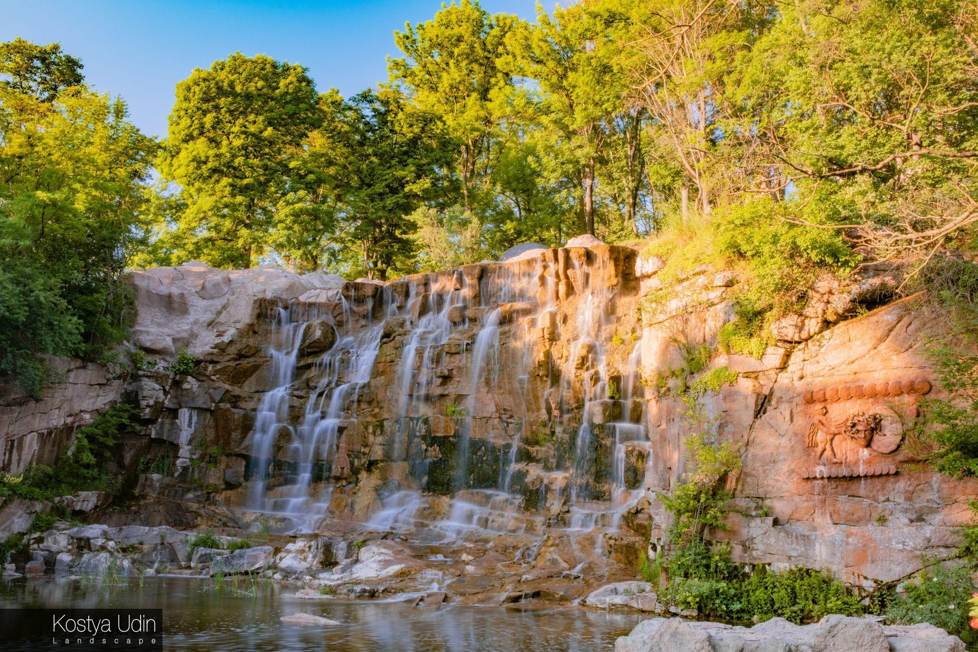 Водопад Горгона, Умань, Софиевка