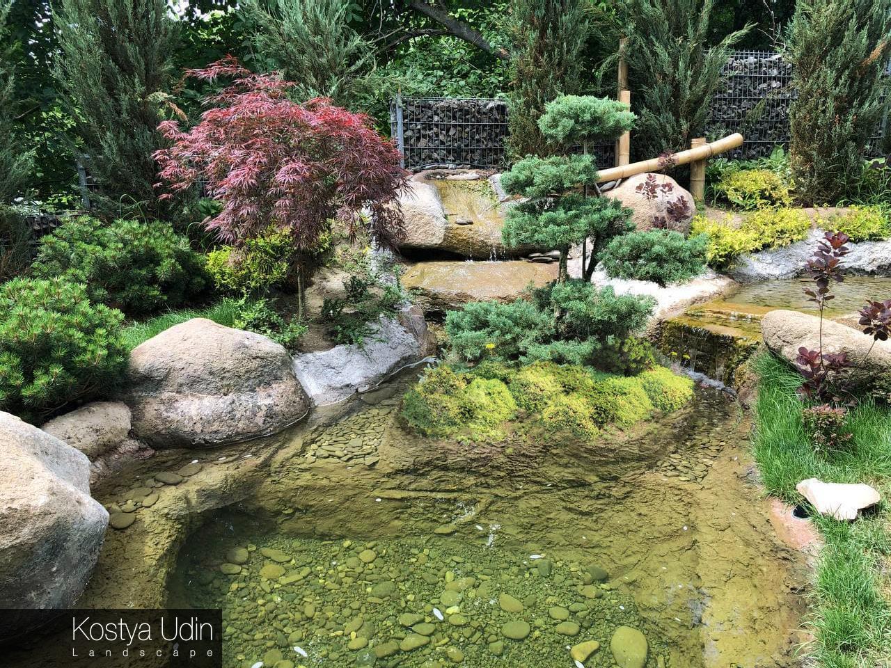 Ландшафт в японском стиле
