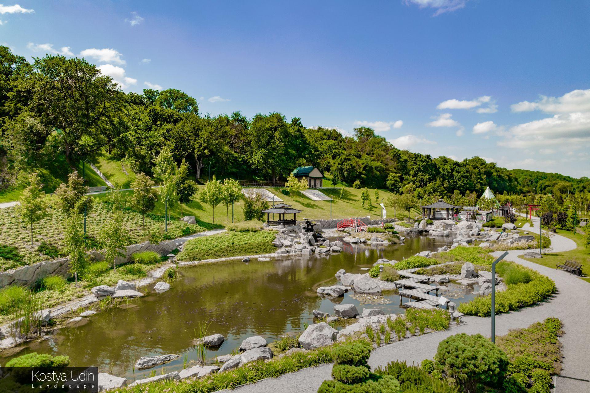 Любимая локация посетителей парка